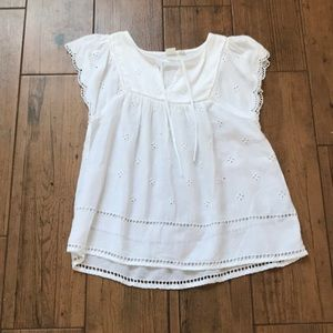 Women's GAP XS white blouse